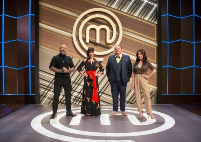 Henrique Fogaça, Helena Rizzo, Erick Jacquin e Ana Paula Padrão: o time Masterchef 2021 (Divulgação/Band)