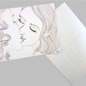 carte postale réalisée par Héloïse Finoux-Nikolic
