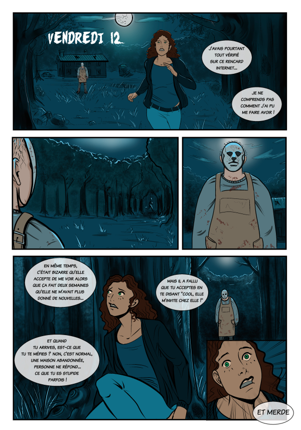BD par Héloïse Finoux-Nikolic pour la Revue LGBT BD n°6