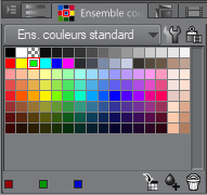 palette ensemble couleurs