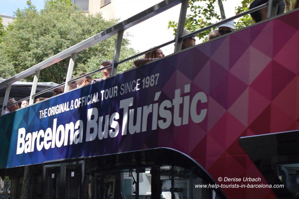 Barcelona Bus Turistic Hop on Hop off Tour