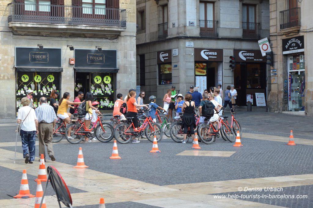 Fahrradtour Barcelona