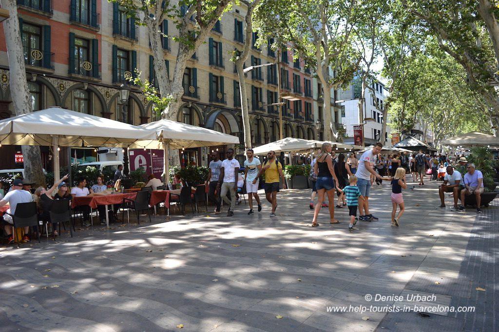Restaurant Rambla Barcelona