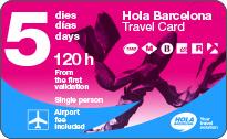 hola-barcelona-travel-card 5 Tage