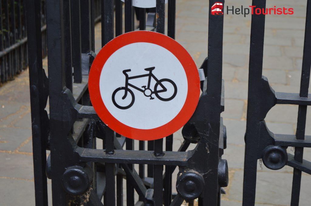 Fahrradfahren in London