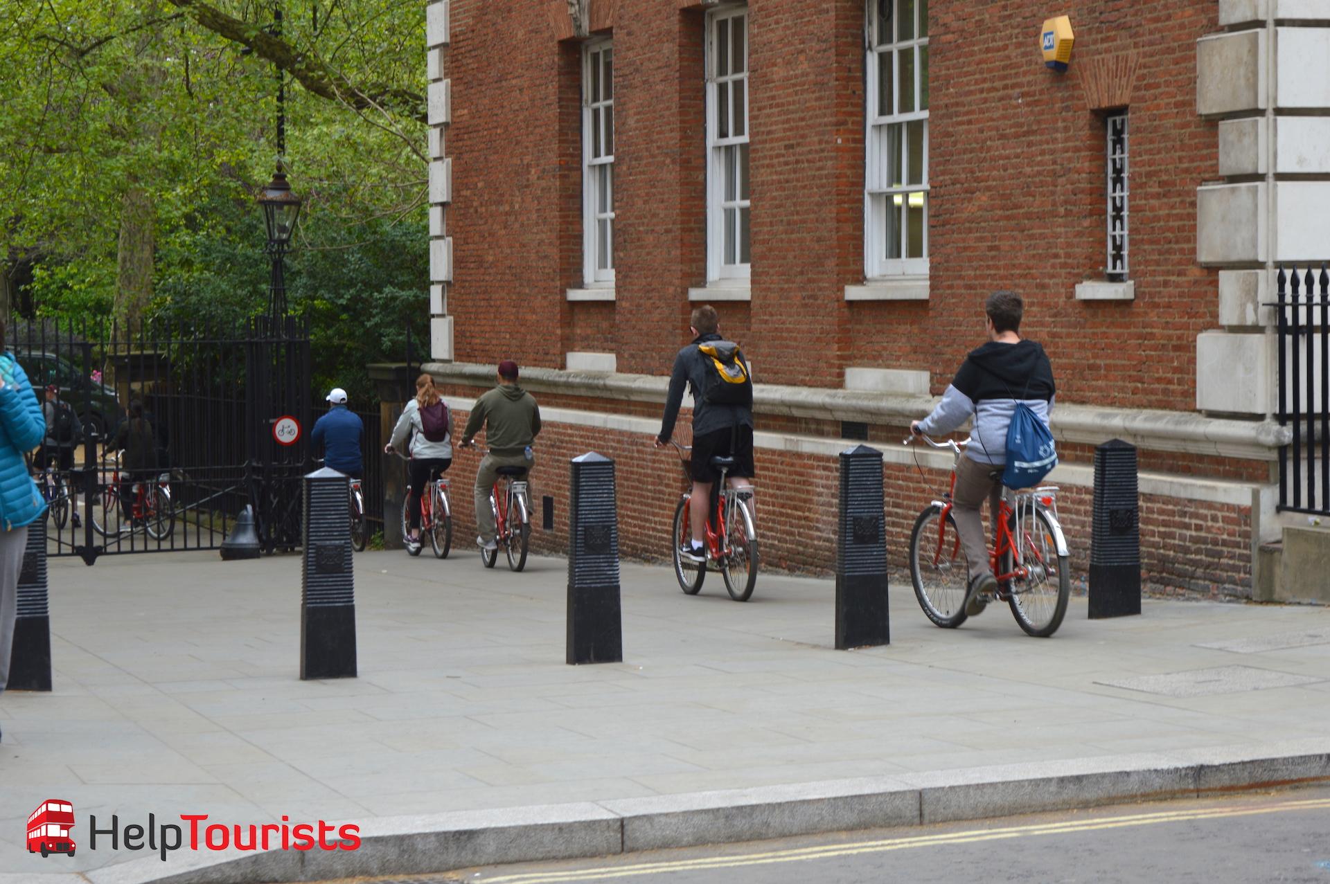Fahrradtour auf deutsch in London