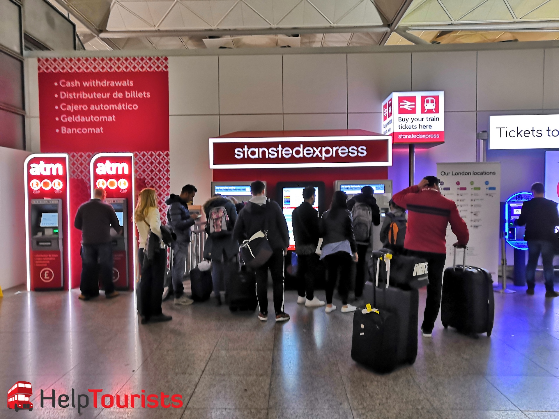 Flughafentransfer-London-Stansted-Express