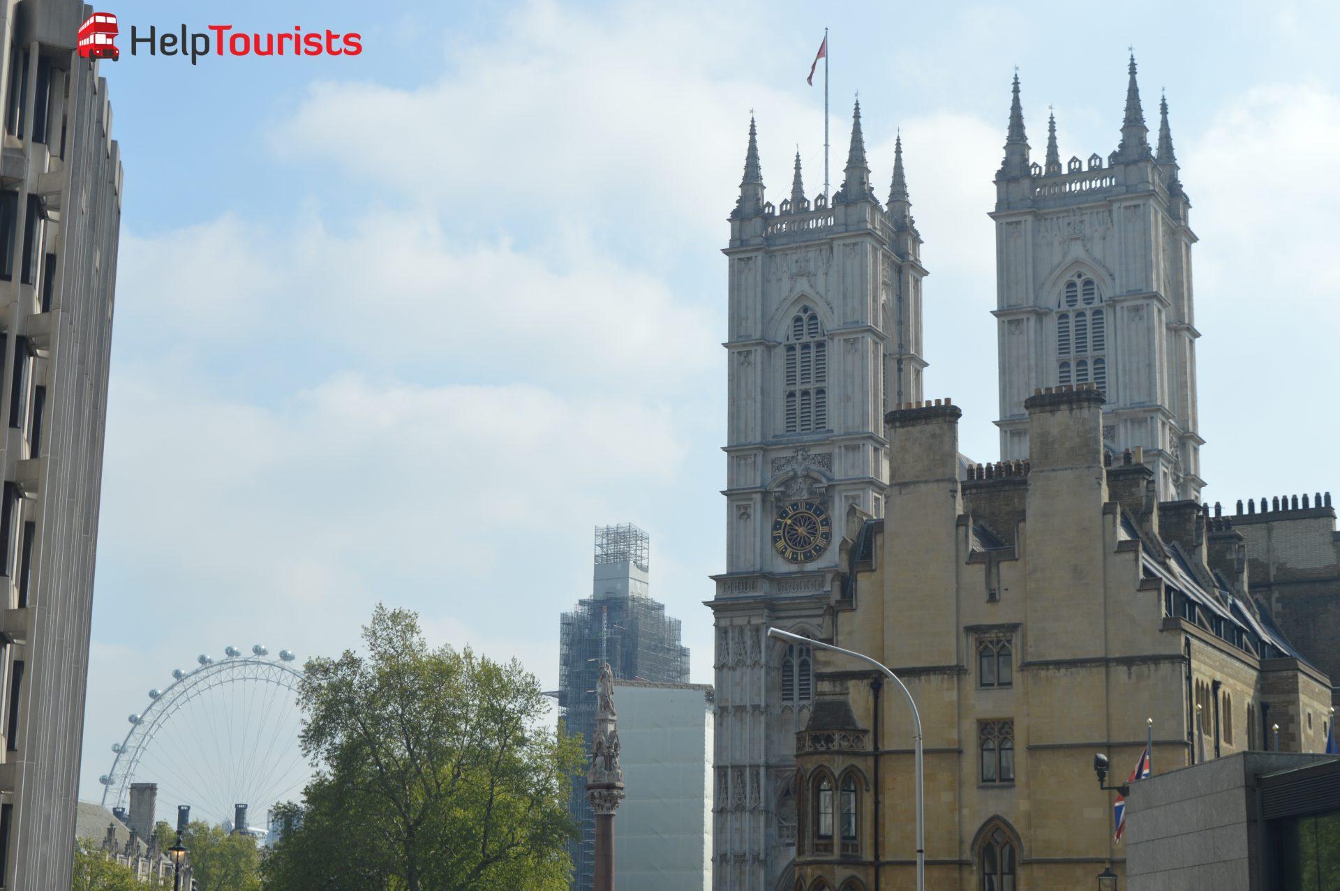 London Eye und Westminster Abbey
