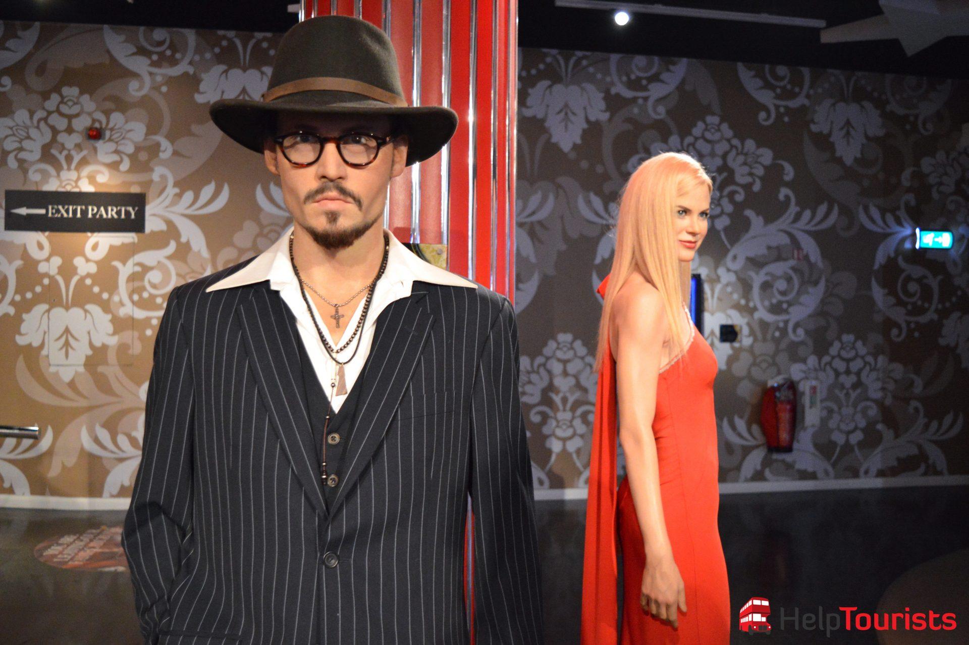 Madame Tussaud's London Johnny Depp