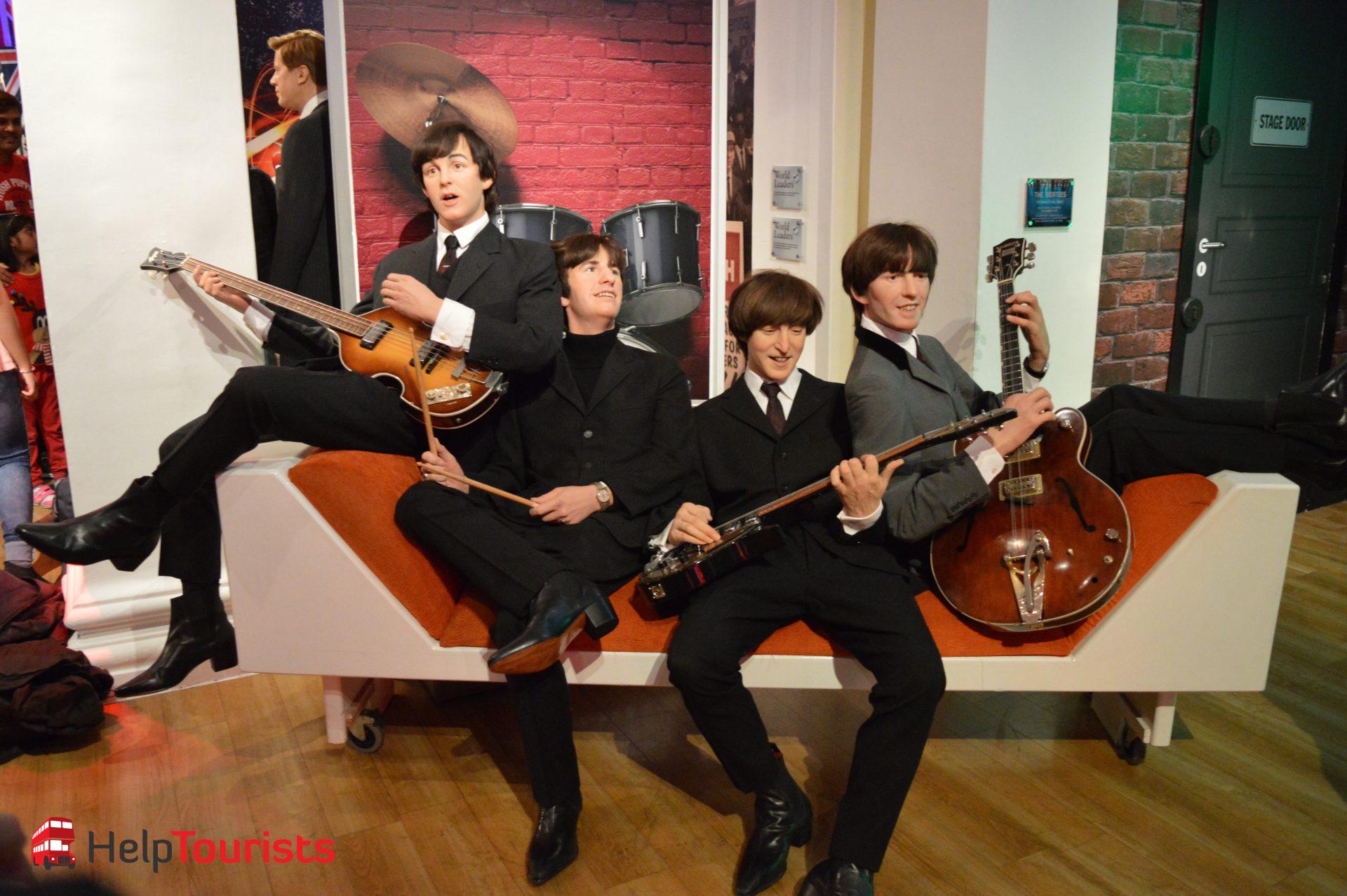 Madame Tussaud's London the Beatles