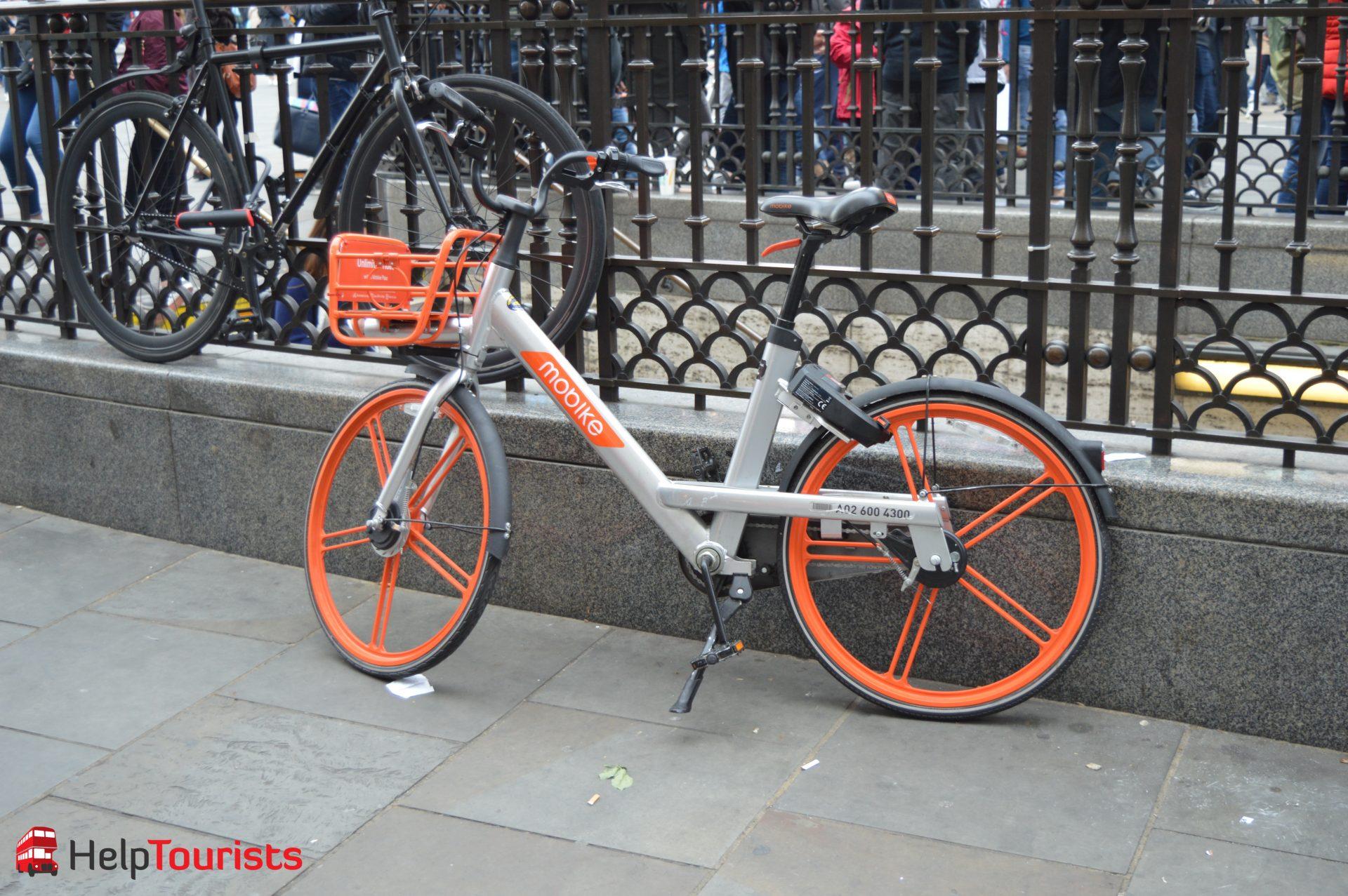 Mobike Fahrrad ausleihen in London