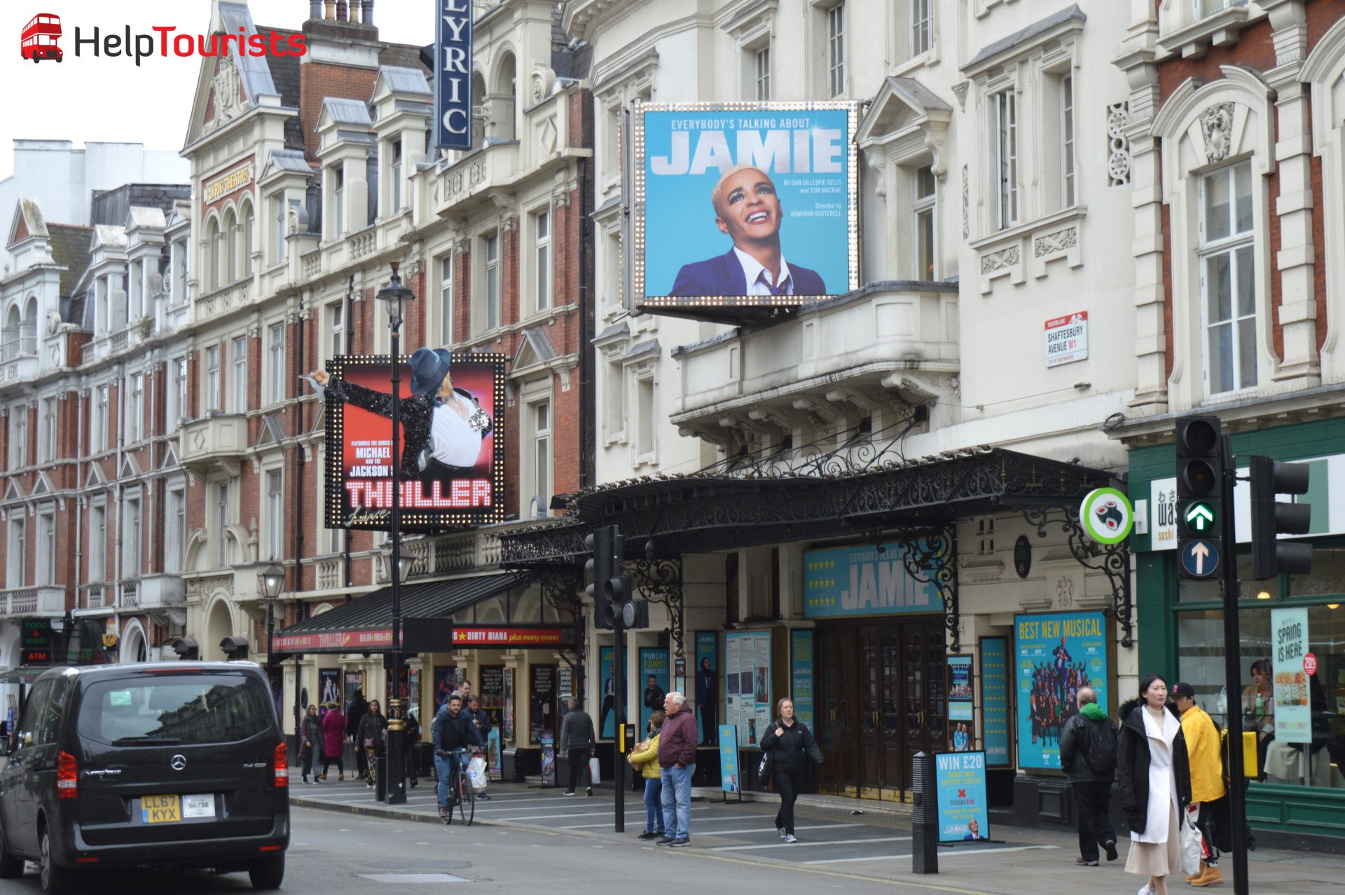 Musicals in der Shaftesbury Avenue London