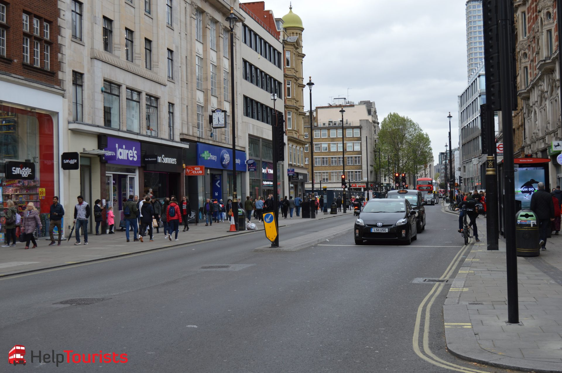 Oxford Street London Shopping