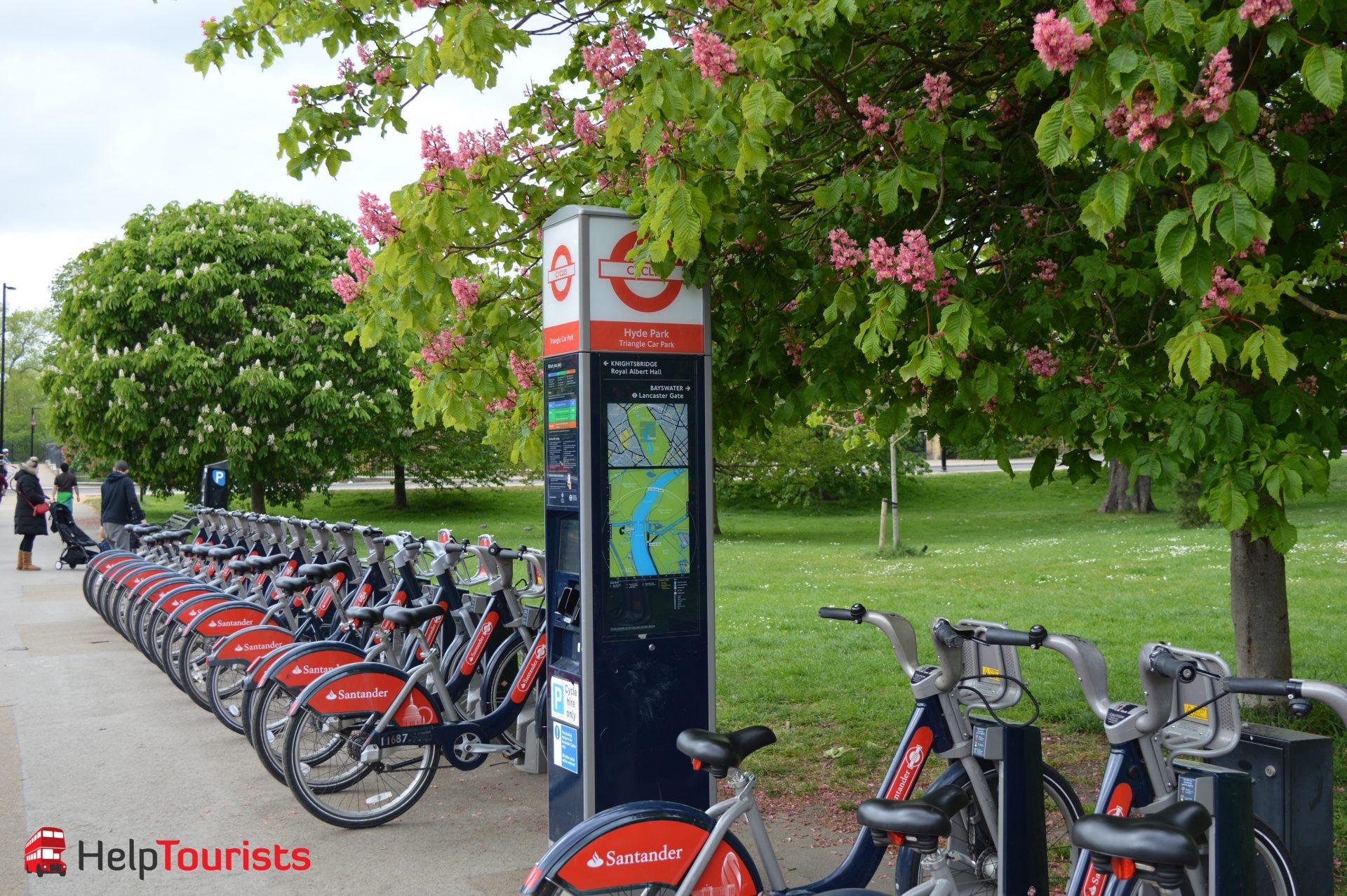 Santander Fahrräder ausleihen London