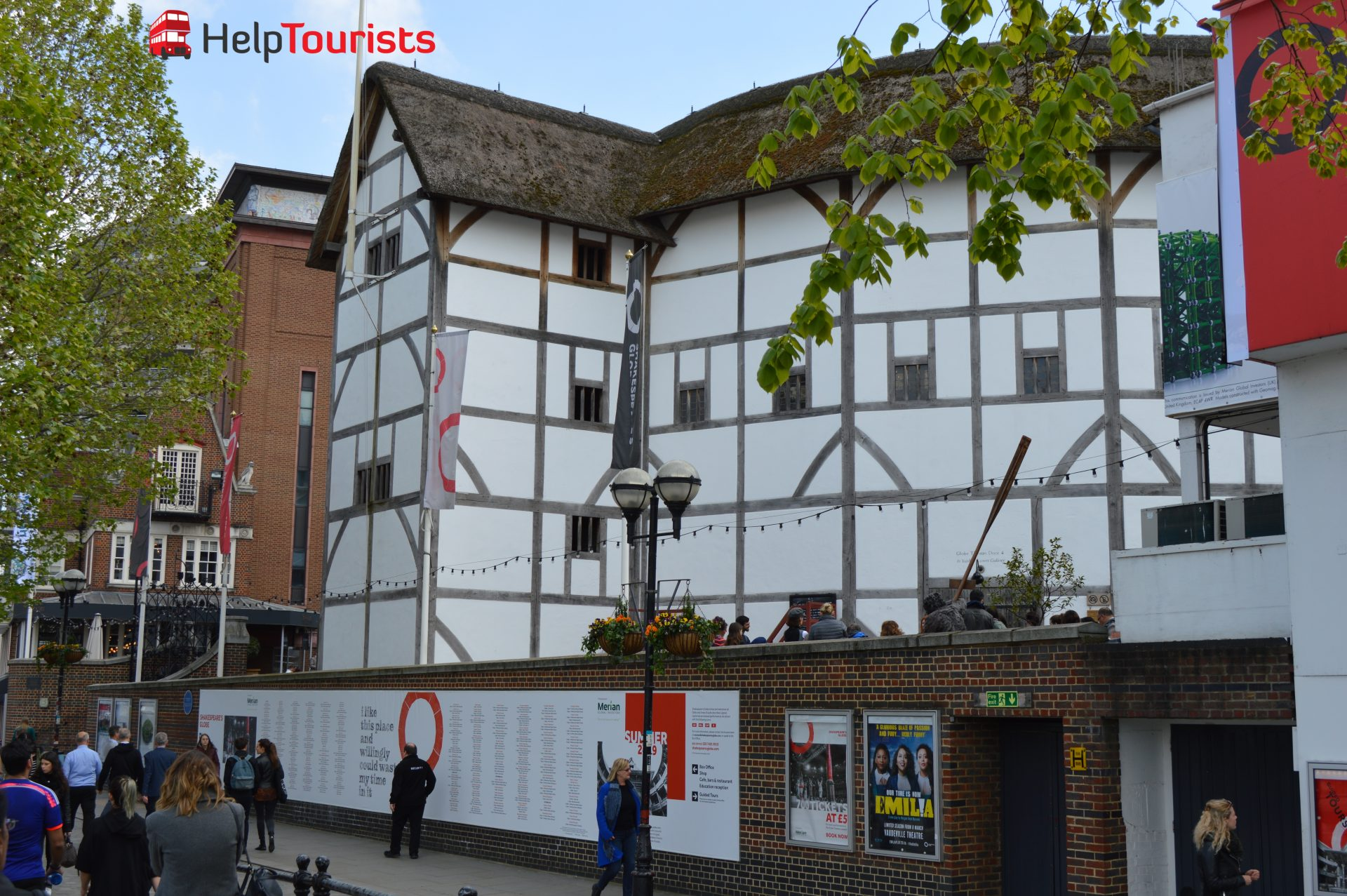 Shakespeare's Globe in London besuchen
