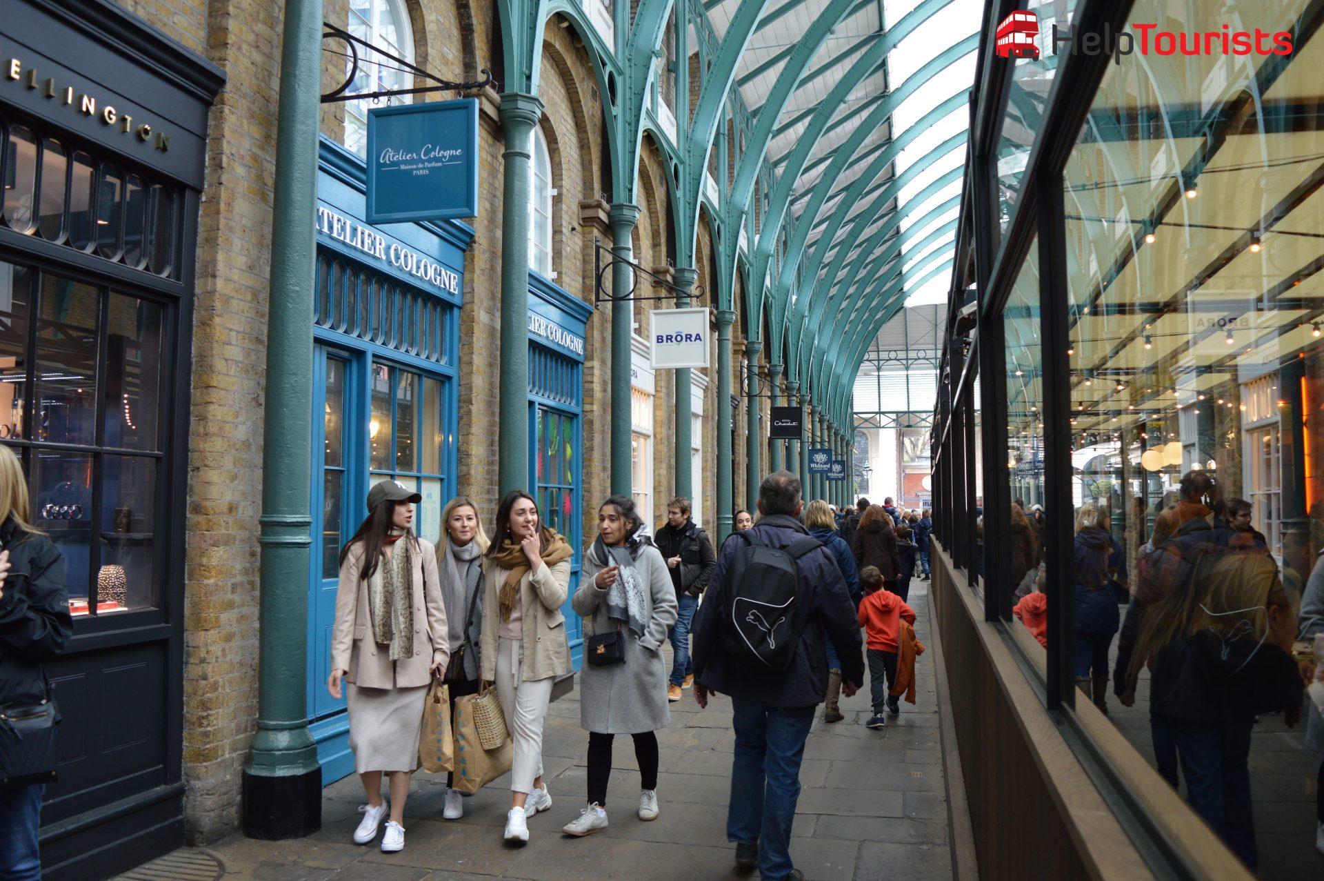 Shopping Covent Garden London