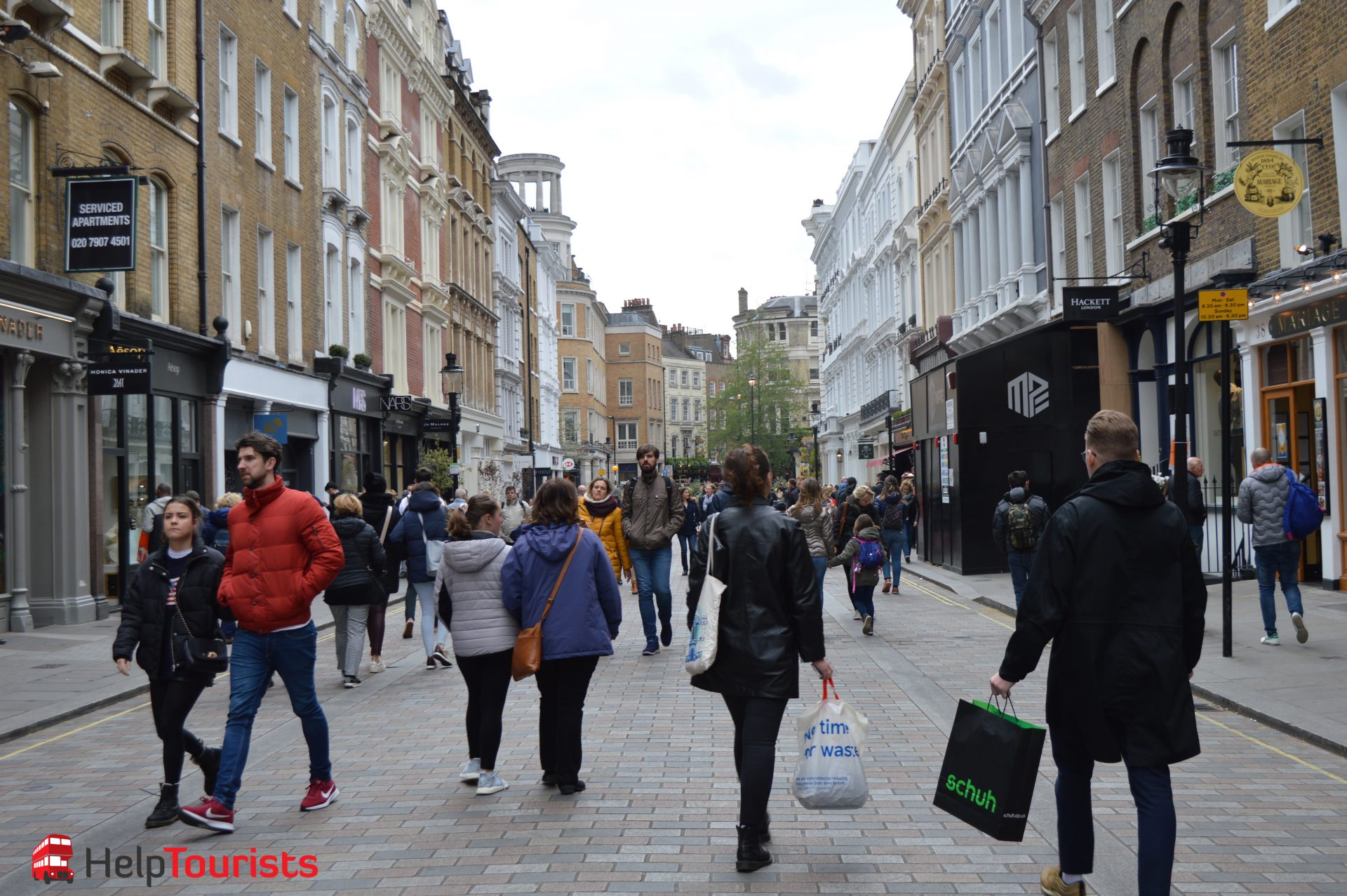Shopping London Floral Street