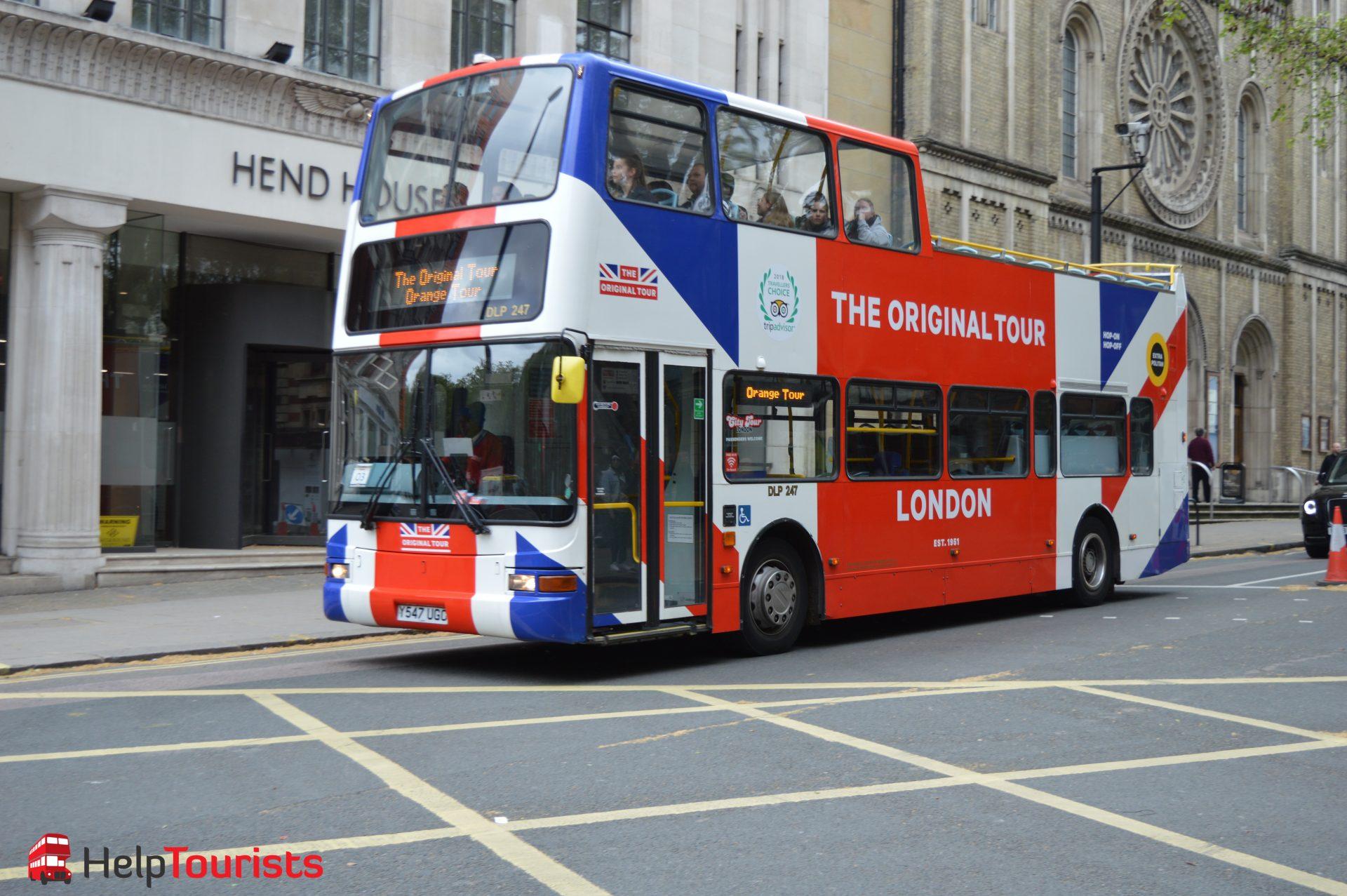 Sightseeing The Original Tour Bus London