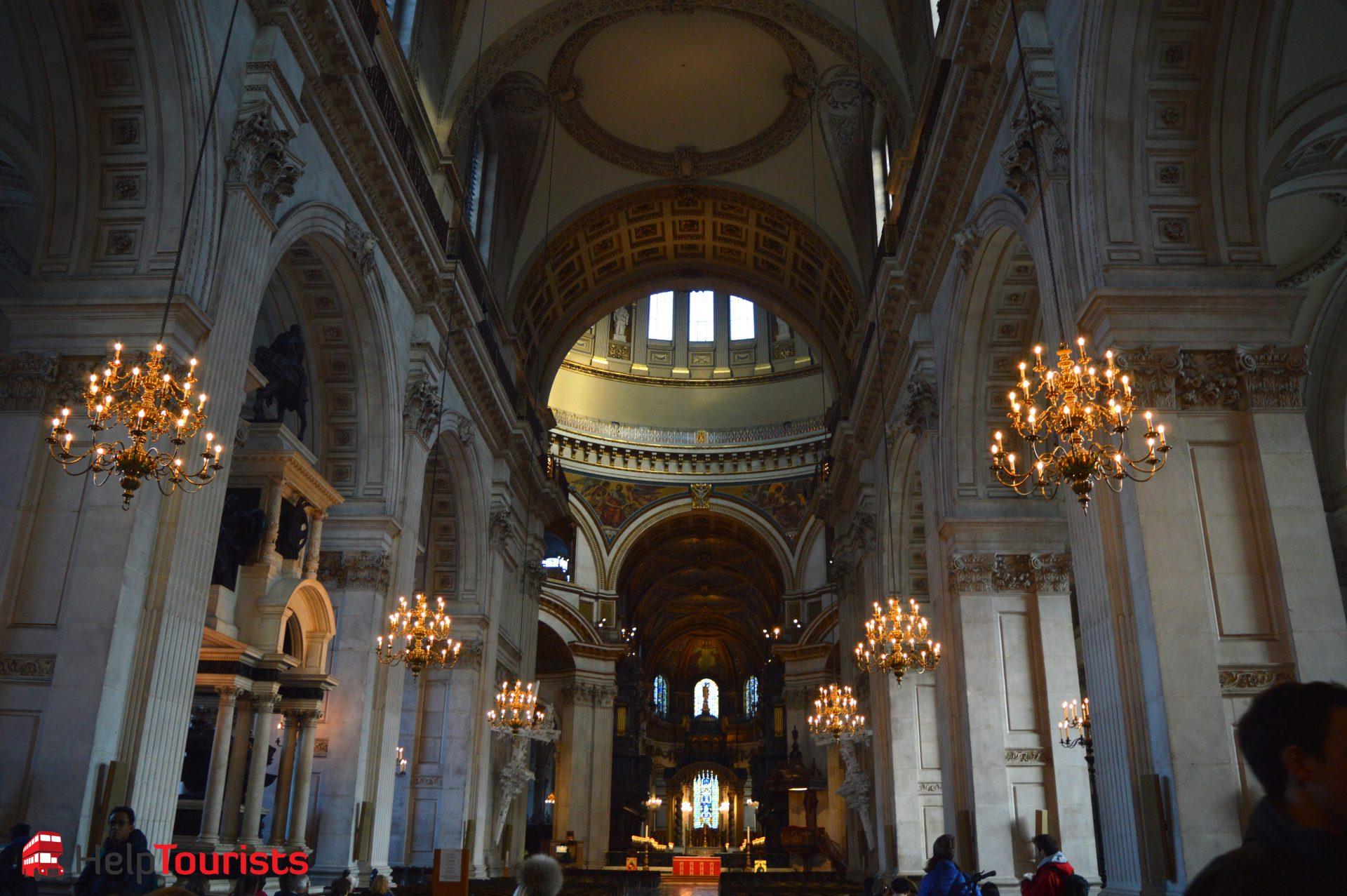 St Paul's Cathedral von innnen