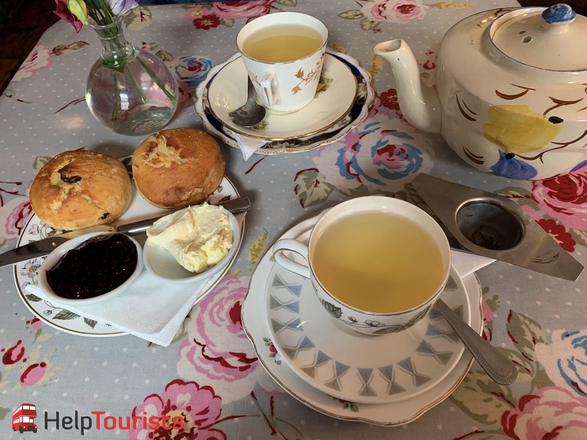 Tea und Scones Soho's Secret Tea Room