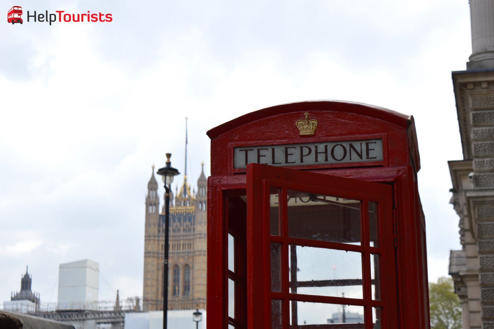 Telefonzelle Palace of Westminster London