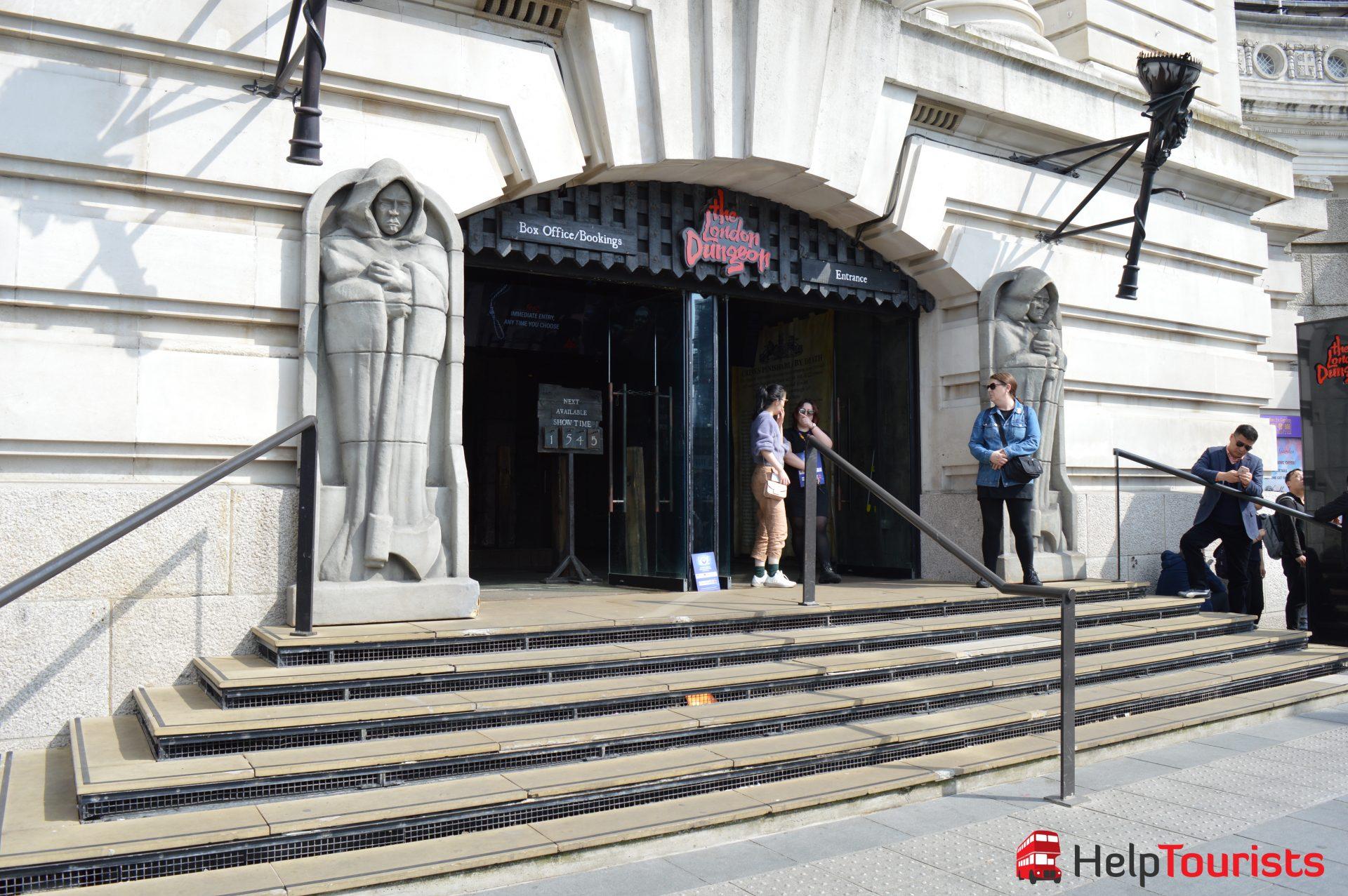 The London Dungeon Tickets online kaufen (weniger bekannte Sehenswürdigkeiten)