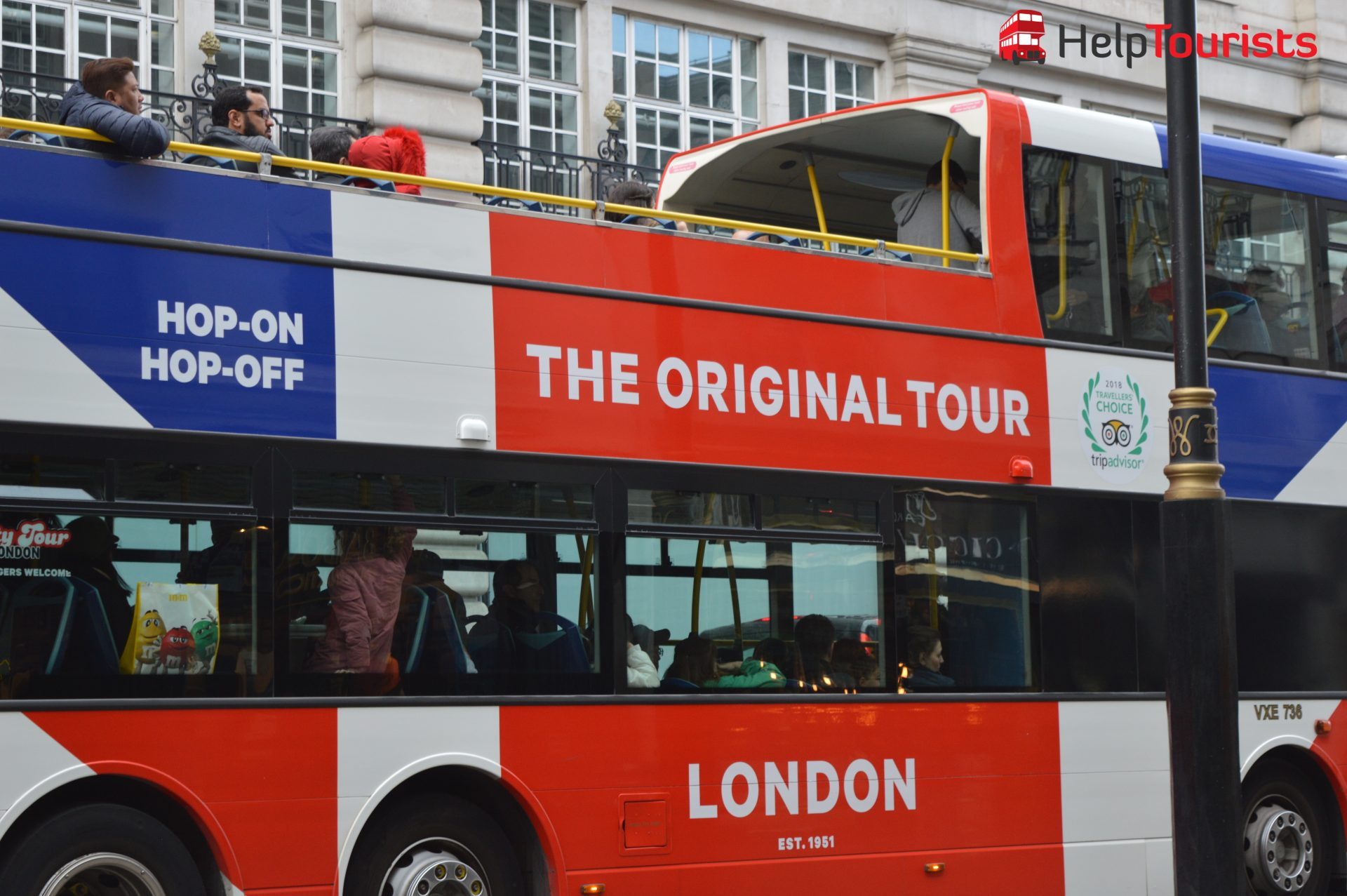 The Original Tour London Hop on hop off