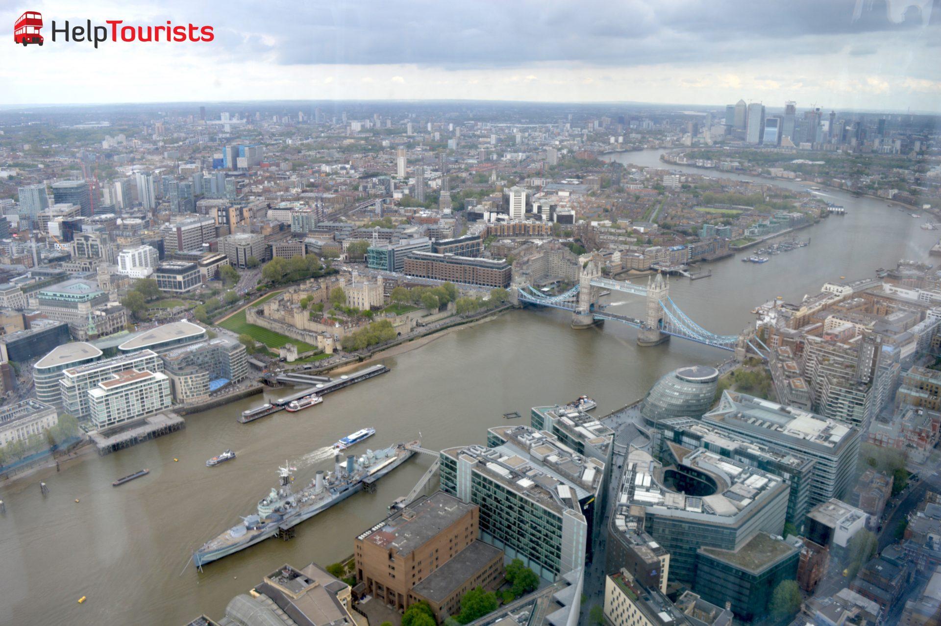 Tower-Bridge-und-MS-Belfast-von-the-Shard-in-London