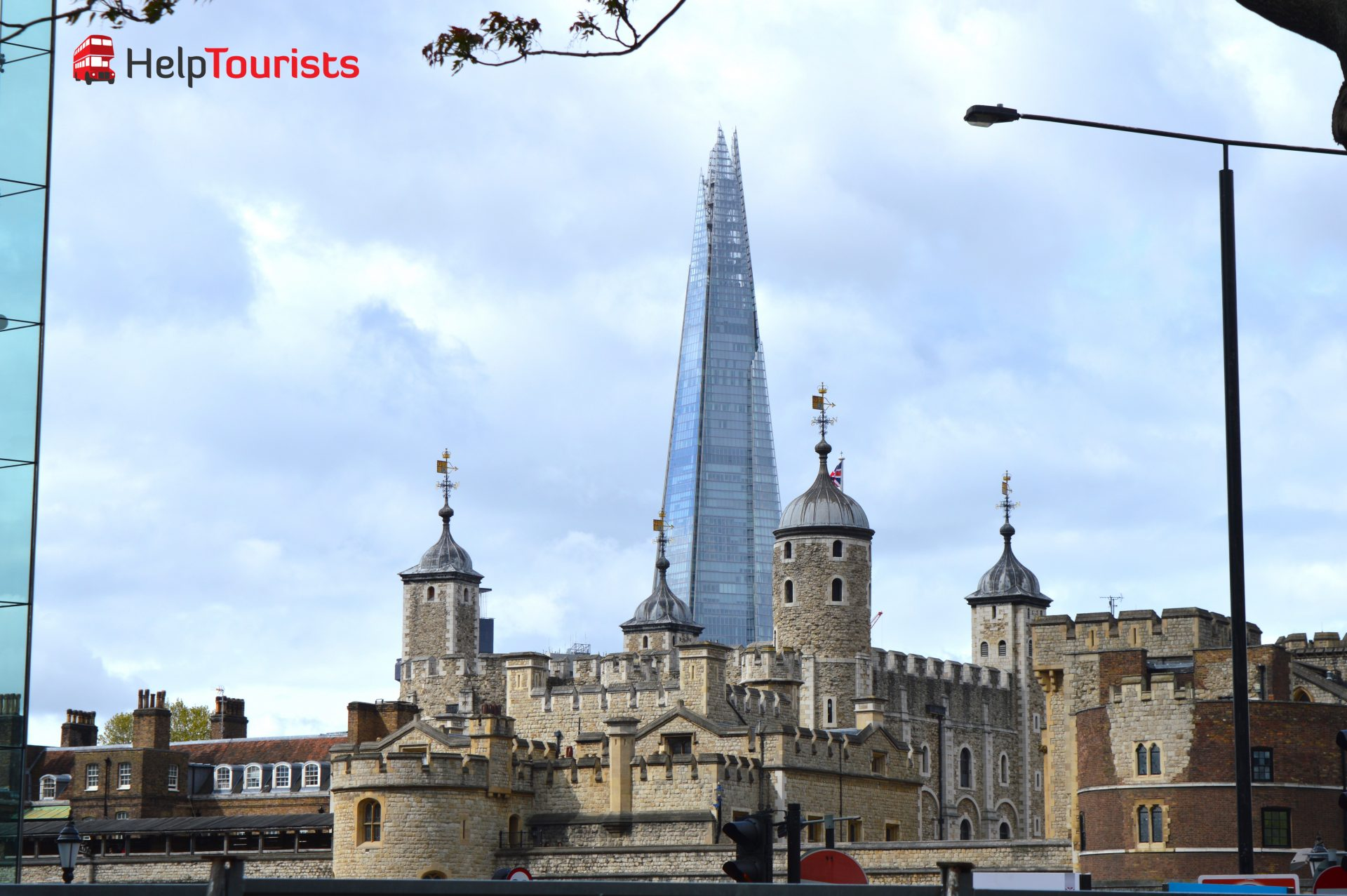 Tower of London und the Shard