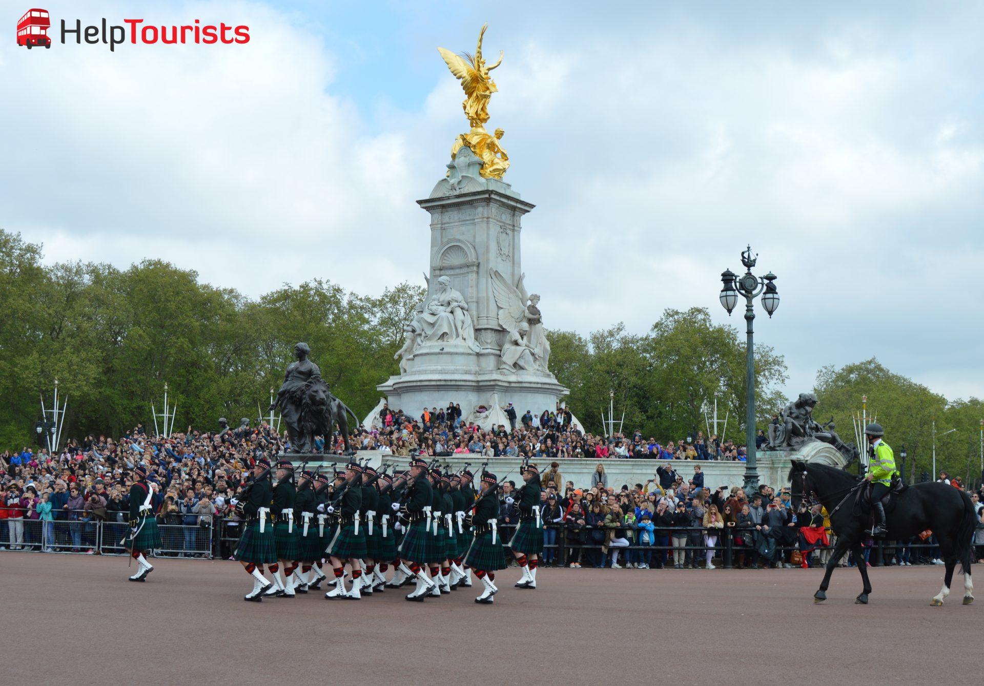 Victoria Memorial Wachablöse London