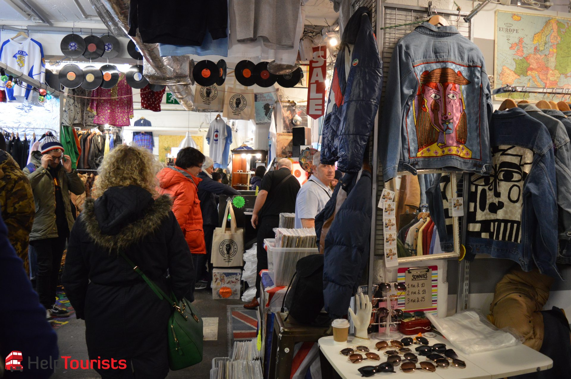 Vintage Shopping in London Vierteln
