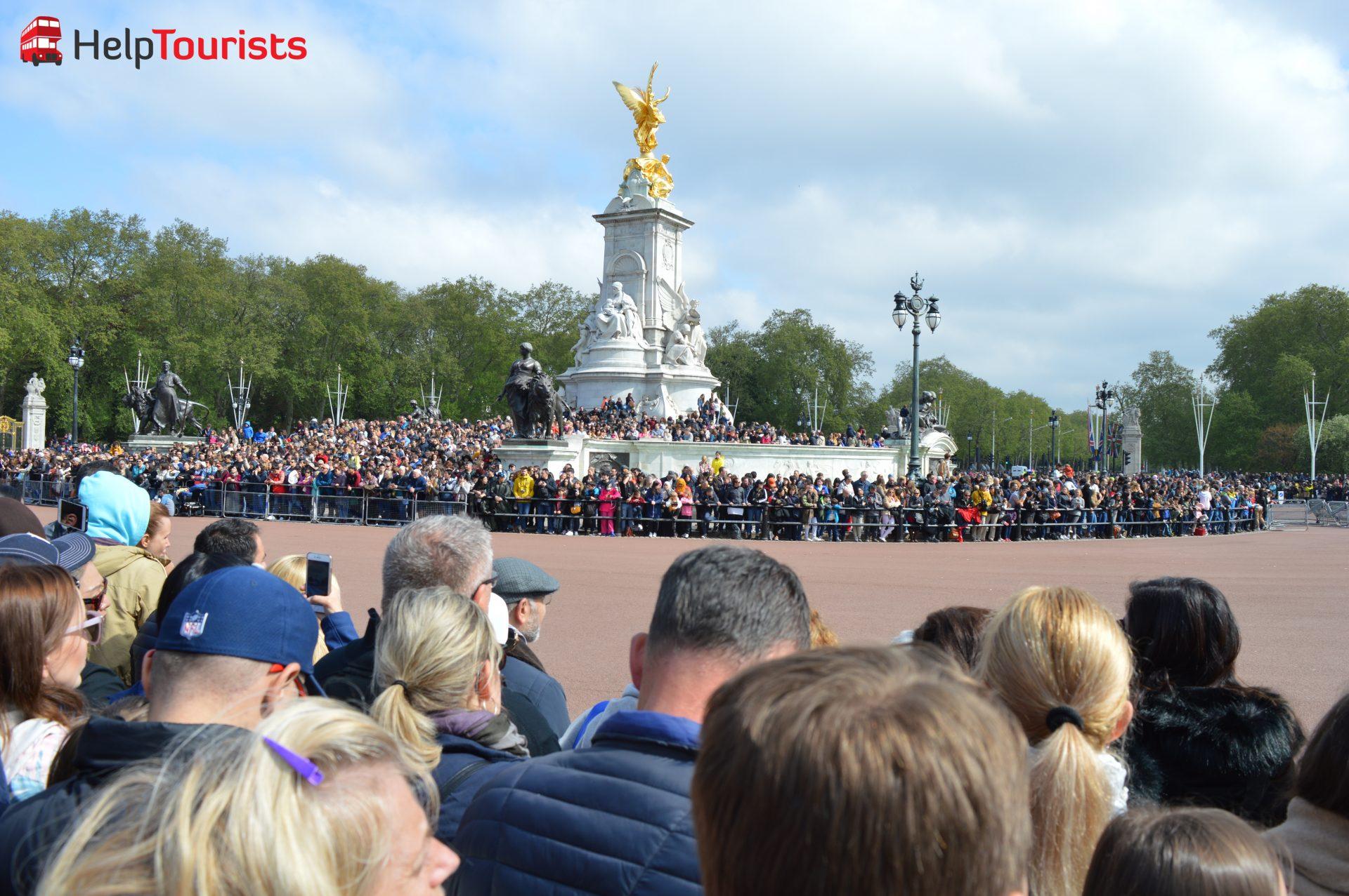 Wachablöse London Victoria Memorial