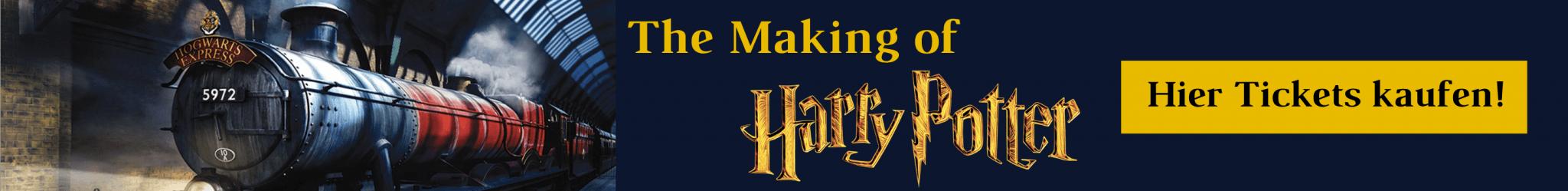 Harry Potter Studio Tour Tickets Banner
