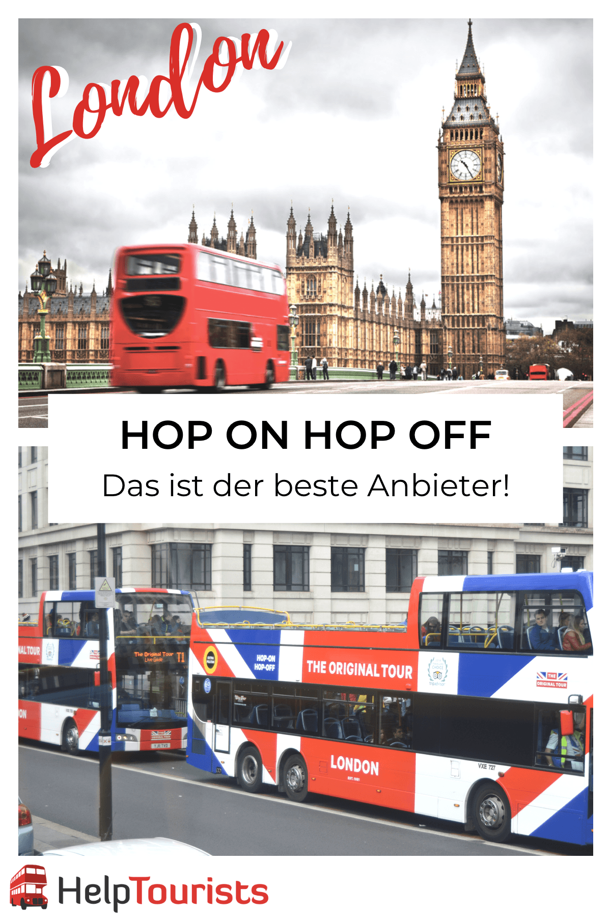 Hop on hop off London