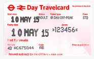 Travel Card London U-Bahn