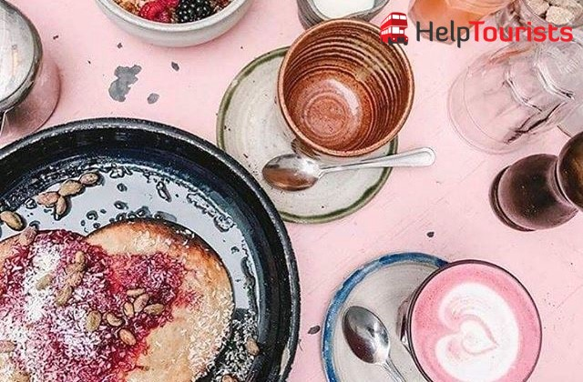 London Frühstück Farm Girl pancakes