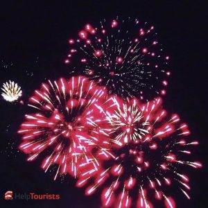 London - Herbst - Feuerwerk Blackheath2