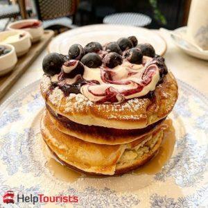 London Frühstück chiltern firehouse pancakes