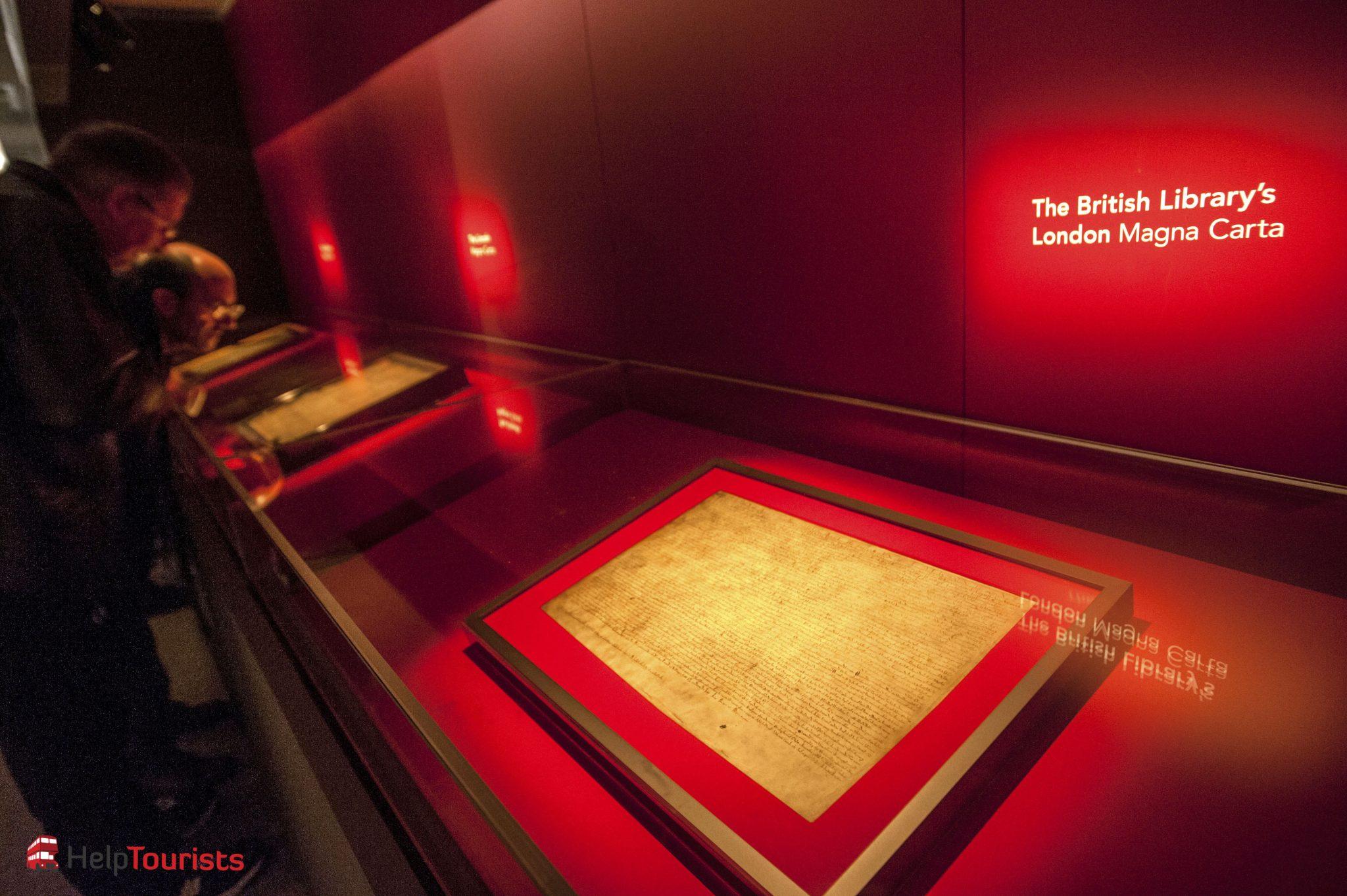 London kostenlos British Library Treasure Gallery