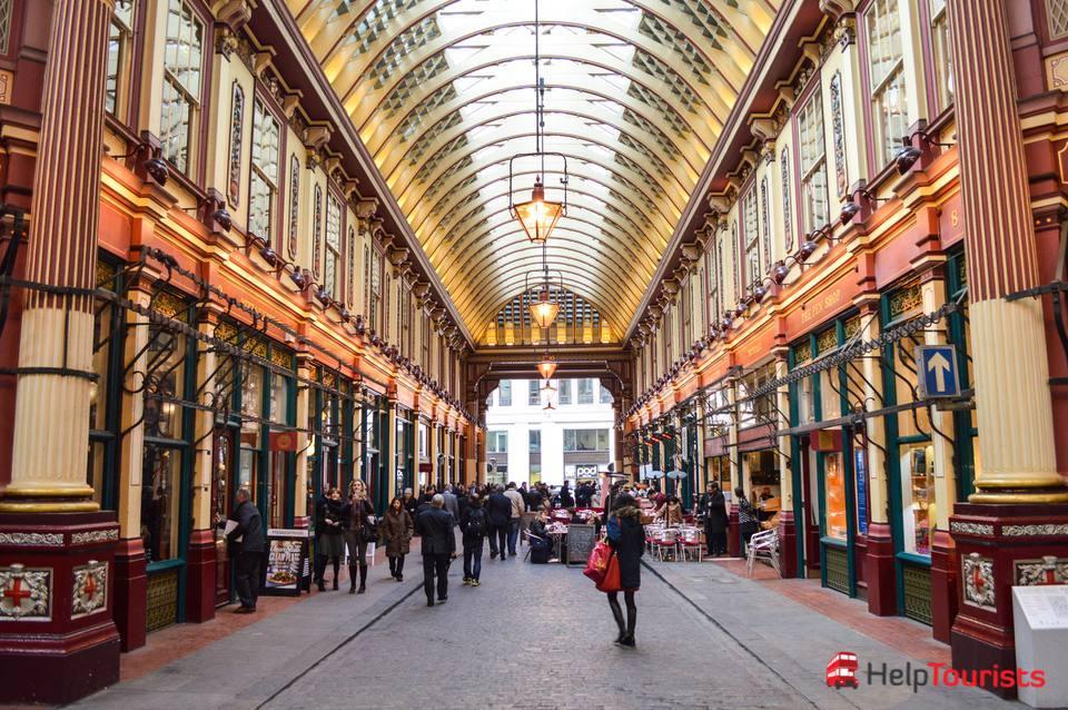 London kostenlos Harry Potter tour Leadenhall Market