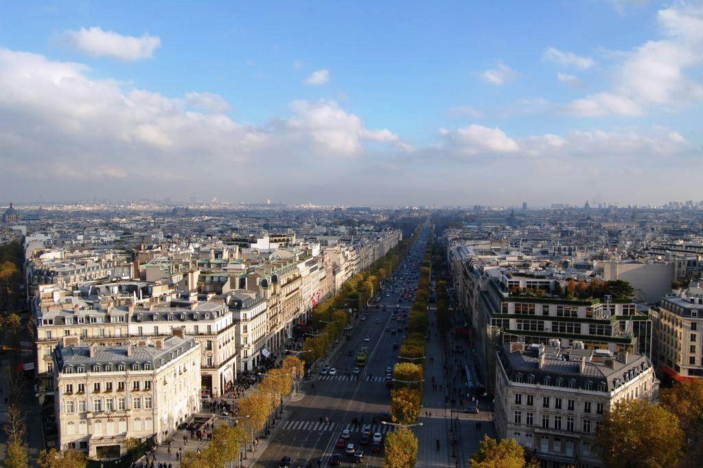 Aussicht Arc de Triomphe