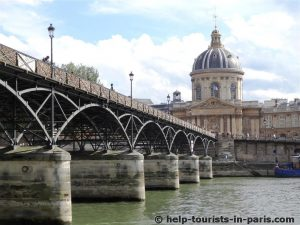Pont des Arts & Institut de France