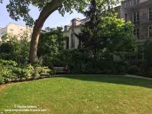 Garten Archives nationales Marais