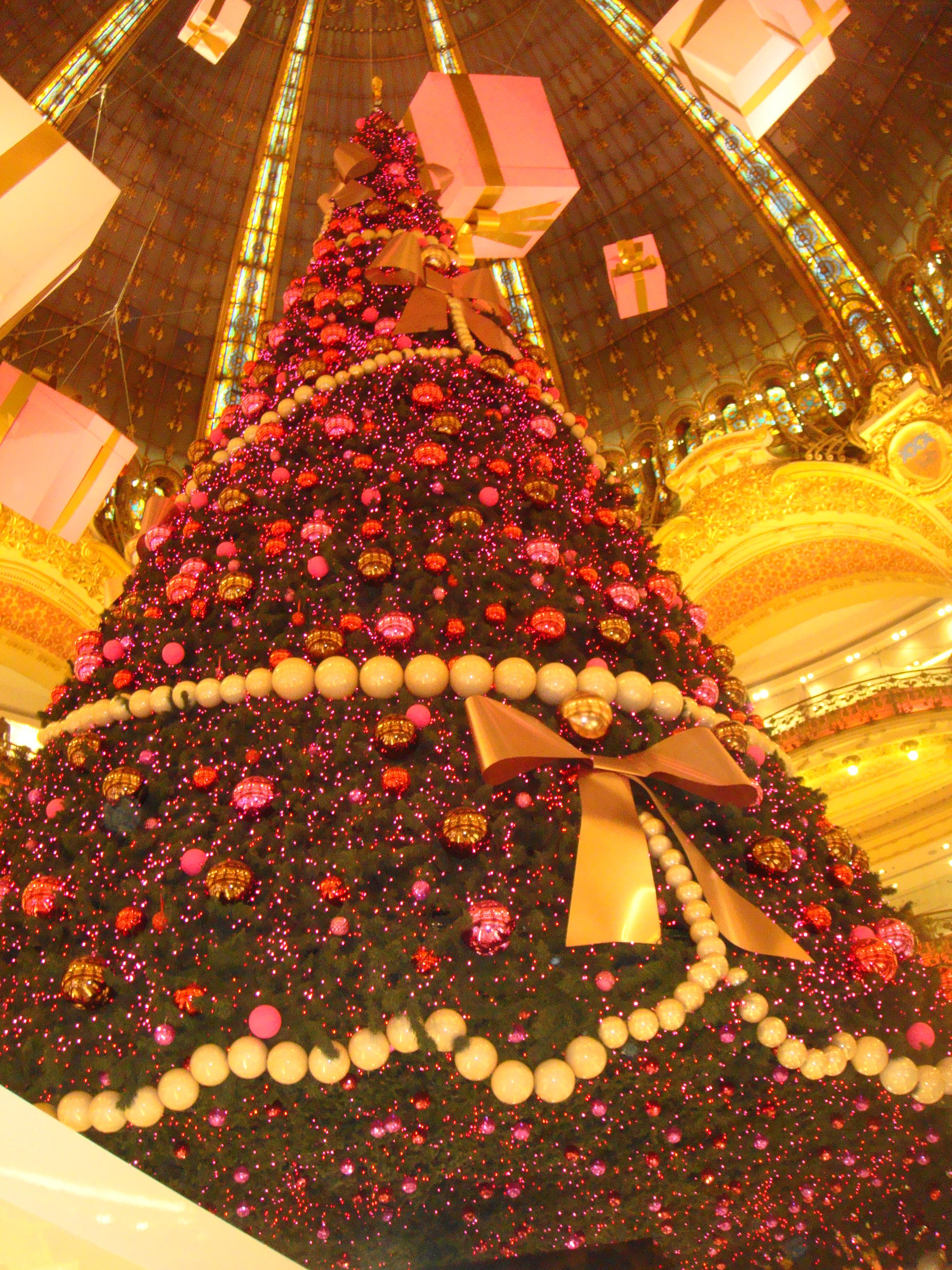 Paris zur Weihnachtszeit! | Touristen in Paris