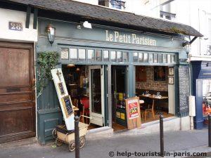 Restaurant in Montmartre, Paris