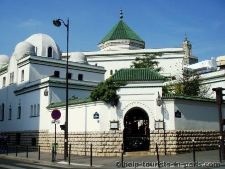 Mosquée de Paris im 5. Arrondissement