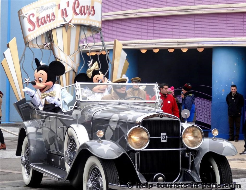Disneyparade im Disneyland Paris