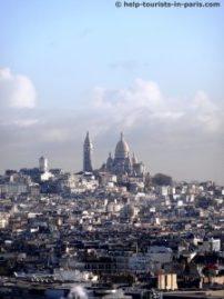 Sacré Coeur mit Glockenturm