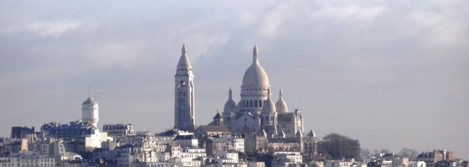Sacré Coeur in Montmartre Paris