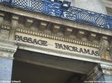 Eingang Passage in Paris